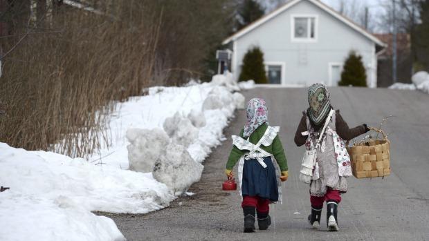 Finnish_schoolchildren