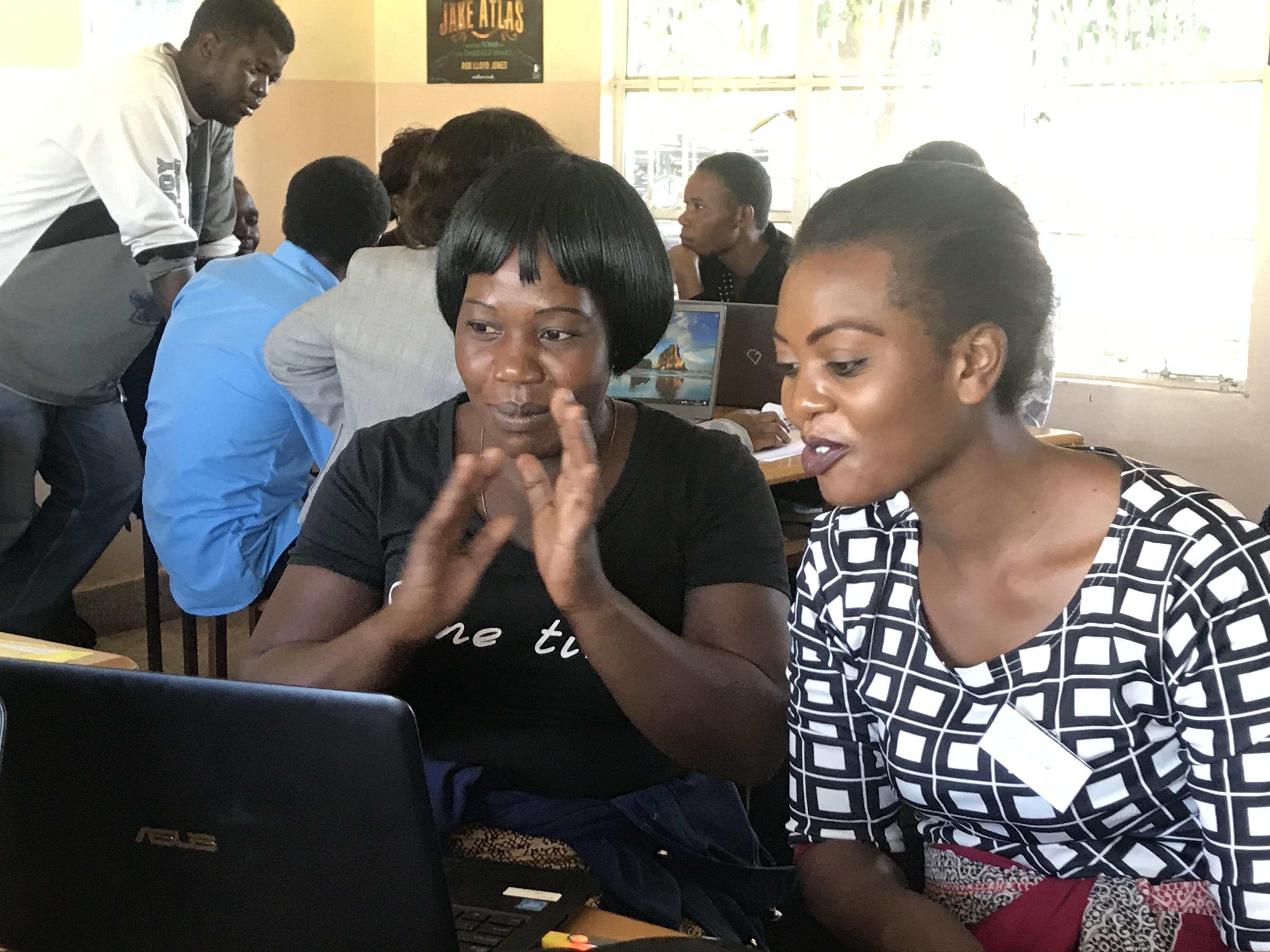 Zambia ICT Students